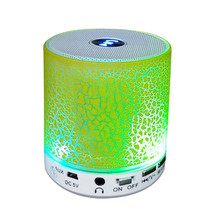 Laptop Portable Wireless LED TF Super Bass Stereo Bluetooth Speaker Soundbar Laptop Portable Player Speakers Subwoofer AU23b(China)