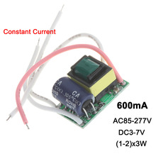 Constant Current LED Driver 1-2x3W 600mA DC3-7V 3W 6W 600 mA PCB Lamp Light Power Supply Lighting Transformer