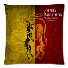 "Custom Game of Thrones Two Side Printing Cotton Linen Pillow Case 17.7""X17.7""(45 X 45CM)(China)"
