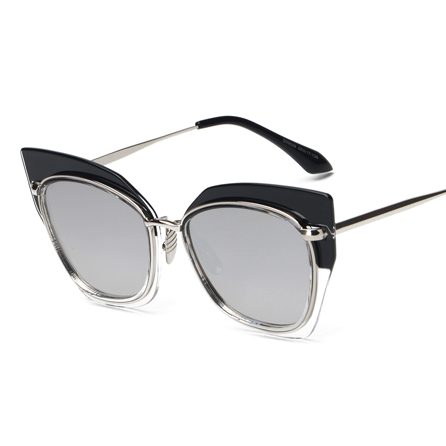 Big Hit Color Frame Cat Eye Lady Glasses 2016 New Vintage Retro Fashion Sunglasses Women Men Brand Designer UV400 oculos de sol<br><br>Aliexpress