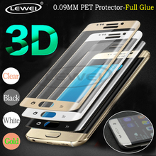 LEWEI 2PCS/Lot 3D Full Cover Screen Protector PET Film For Samsung Galaxy S7 Edge S6 Edge S8 Plus Note 8 ( Not tempered Glass )(China)
