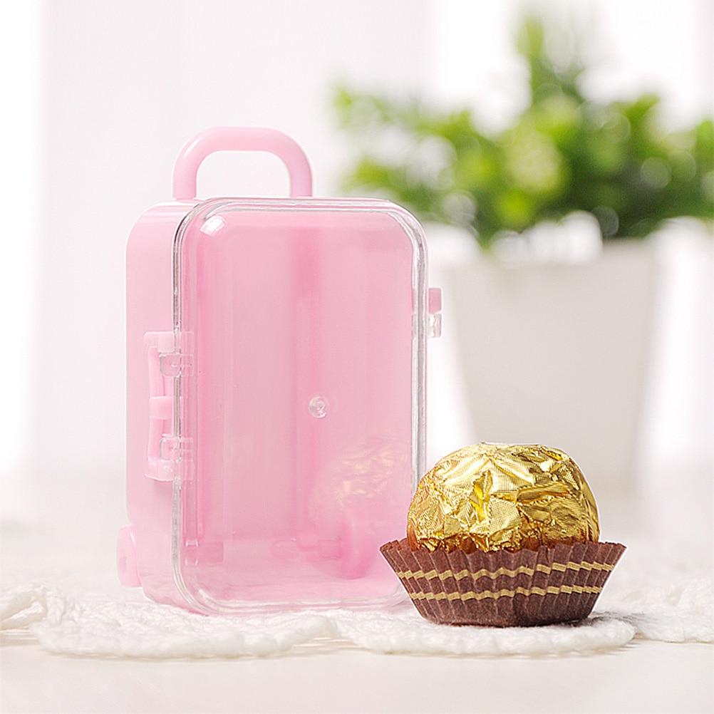 Mini Suitcase Shape Gift Box Favor Box Wedding Favors Party ...