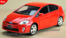 1:32 Scale Alloy Diecast Car Model For TOYOTA PRIUS Collection Model Pull Back Toys Car With Sound&Light-Silver/Red/White/Black