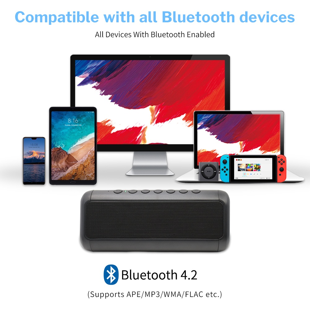 Bluetooth Speaker Waterproof 17