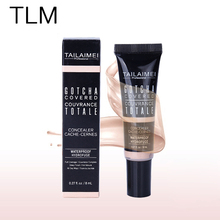Brand Professional Make Up Base Face Whitening Dark Circles Freckle Covers Foundation Cream Makeup Concealer Liquid Cream