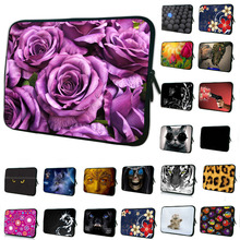 Romantic Neoprene Soft Laptop Sleeve Bag Cases Cover Pouch Protector For 7 7.7 7.9 8.1 inch Tablet Netbook Ebook Computer PC