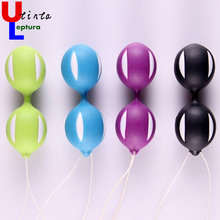 Utinta Leptura Female Smart Vaginal Balls Weighted Woman Kegel Vaginal Tight Exercise Vibration Massager Sex Toys for Women(China)