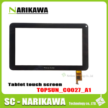 topsun_c0027_a1 7 inch Tablet PC VISUAL LAND Multi-point capacitive touch screen external display screen number TOPSUN_C0027_A1