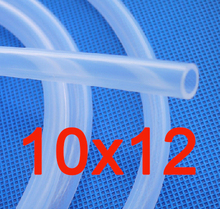 10mm x 12mm Food Grade Silicone Rubber Hose