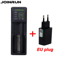 Joinrun N1 18650 Battery Charger EU Plug For 26650 16340 RCR123 14500 1.2V Ni-MH Ni-Cd AA AAA AAAA Li-ion Batttry charger(China)