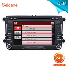 seicane 7 inch car radio GPS Navigation for 2006-2011 VW Volkswagen Cupra Support Aux iPod USB SD card With CANBUS DVD player(China)