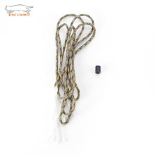 EDCGEAR Titanium Alloy Bead For Custom Knife Lanyard Keychain Paracord Bracelet(China)
