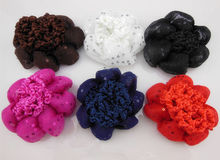 New Arrival Bun Cover Snood Hair Net Ballet Dance Skating Crochet Sequin Hair Snood