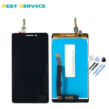 For Lenovo A7000 LCD Screen Display with Touch Screen Digitizer Assembly Black