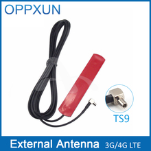3G 4G LTE patch antenna 700-2600MHz TS9 male connector with 3 meter extension cable for modem and router(China)
