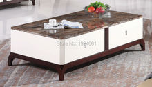 Modern Coffee Table Cam Sehpalar Mesas Direct Selling Mirrored Furniture Wooden Coffee Table With Desktop New Model Tea 8091(China)