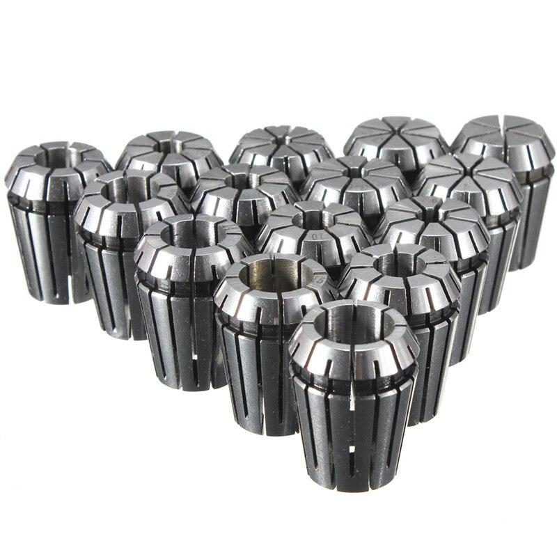 Useful 15pcs/Set (2mm-16mm) ER25 Precision Spring Collet For Lathe Chuck  For CNC Milling Engraving Machine Best Price<br>