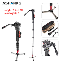 JIEYANG JY-0506 Aluminum Professional Monopod Video tripod for camera with Tripods Head Carry Bag Free Shipping JY0506(China)