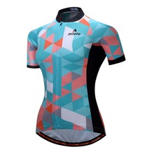 Women Cycling Jersey Breathable Short Sleeve Jersey Ropa Ciclismo Bicycle Sportswear Bike Quick Dry Cycling Clothing