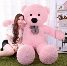 "5color 6.3 FEET TEDDY BEAR STUFFED GIANT JUMBO 72"" size:160cm Christmas Valentine's / Birthday Gift(China)"