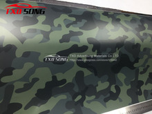 Dark Blue Jumbo Camo Car styling Truck Body Rearview Decal Camouflage Vinyl Film Wrap Air Bubble PVC Stickers Bomb Vinyl Film