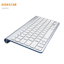 Israel Hebrew language slim 2.4G Wireless Keyboard for MACBOOK,LAPTOP,TV BOX Computer PC ,android tablet with USB receiver(China)