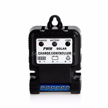 6V 12V 10A Auto Solar Panel Charge Controller Battery Charger Regulator PWM Hot #S018Y# High Quality