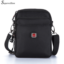Soperwillton Men's Bag New 2017 Hot Sale Original Oxford Water-proof Zipper Bag Man Famous Brand Designers Black Travel Bags 052