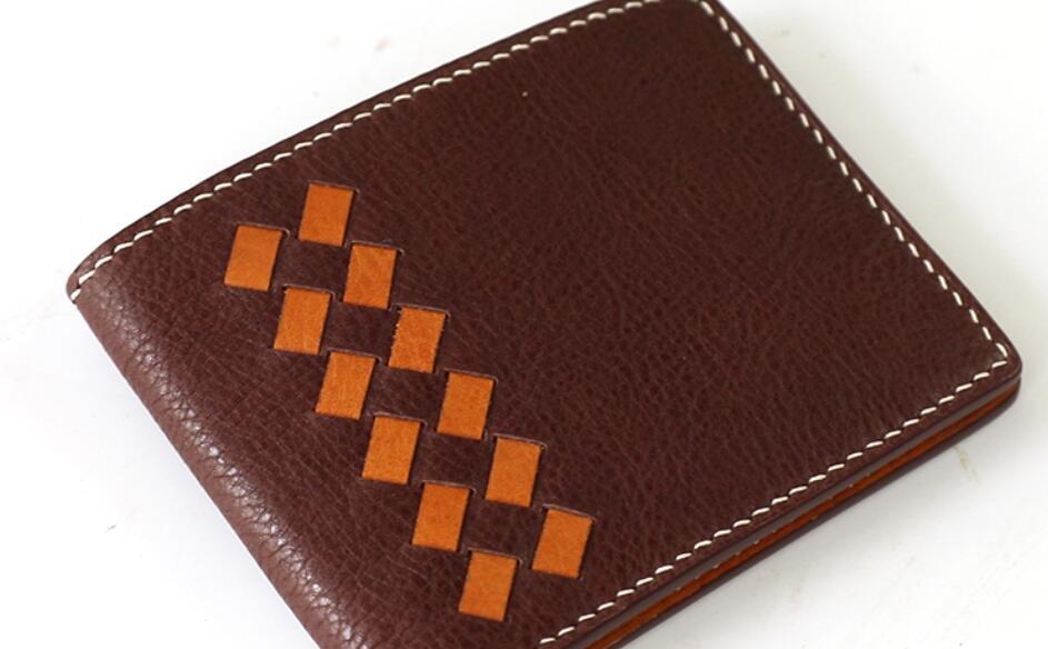 Brieftasche Bage Leder Handwerk Acryl Schneide Stanzen DIY Muster Stempel Machen