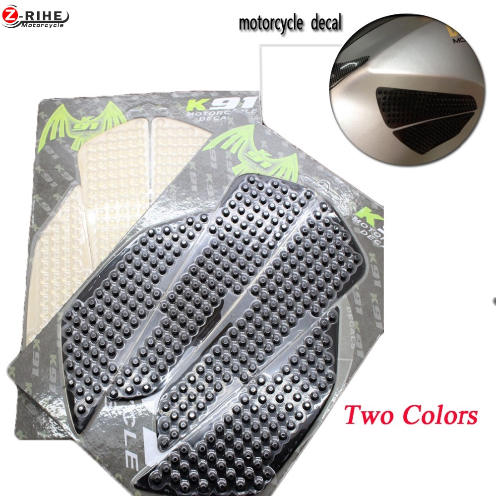 products Motorcycle universal stickers Traction Pads clear tank stickers For Yamaha YZF-R6 YZF-R1 FZ8 FZ800 R1M FZ1 MT-03 MT-01