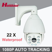 Buy CCTV Camera IP 22X Zoom Camera High Speed Dome Network 1080P Auto Tracking PTZ IP Camera Surveillance Security camera IP for $407.00 in AliExpress store