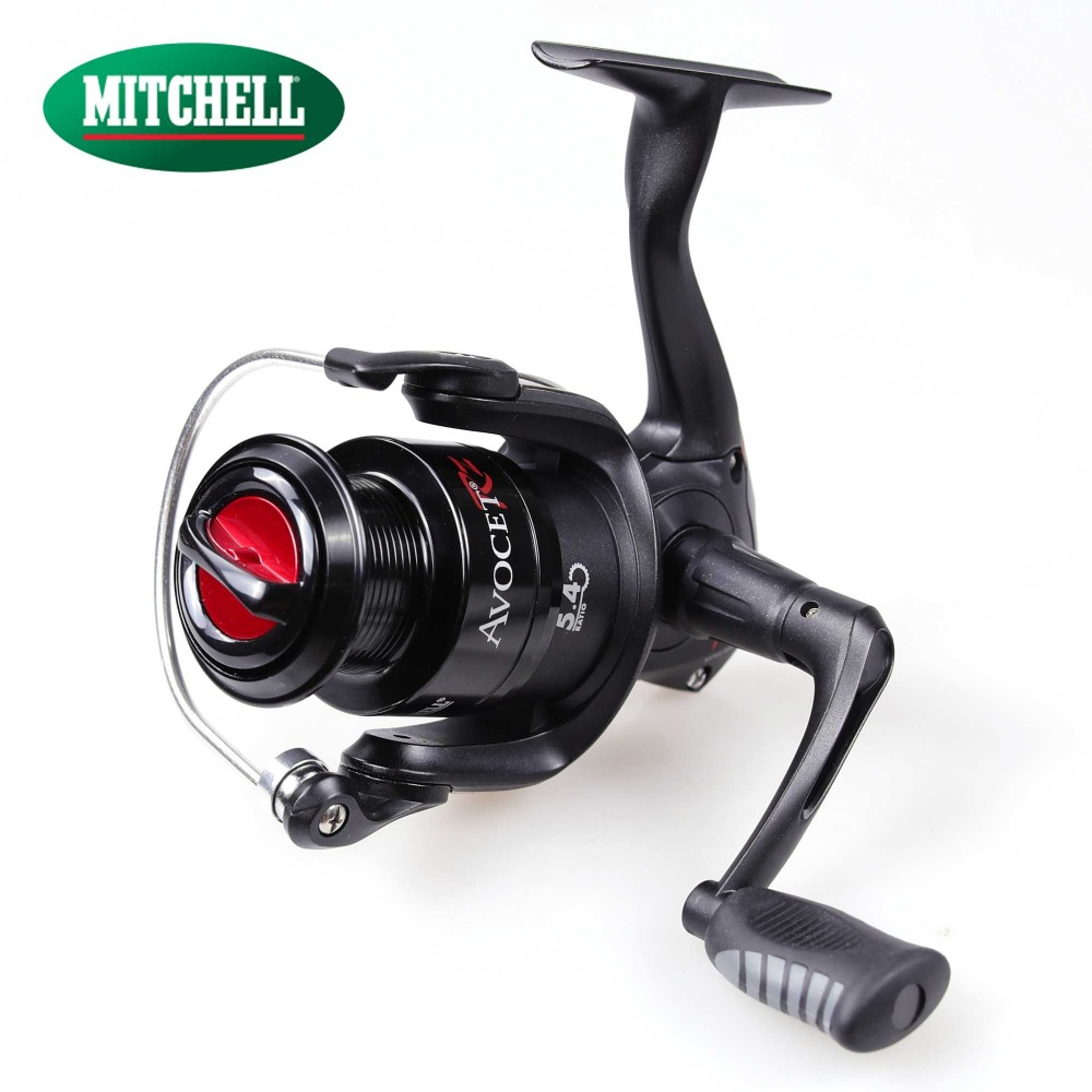 100% Original Mitchell 2017 AVRZ 500UL 1000 2000 3000 4000 Spinning Fishing Reel 4+1BB Front Drag Oil Felt Carp Fishing Wheel<br>