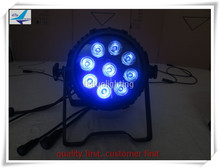 T-(8/lot)pro stage light dj show 9x15w 5in1 outdoor IP 65 slim or flat led par dmx par 64 club light