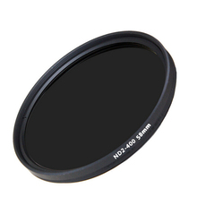 Hot Sale 1pcs 58mm slim fader ND filter adjustable variable neutral density ND2 to ND400 for Canon 18-55 55-200 Nikon 50/1.4G
