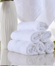 Free Shipping 10pieces/lot White Traveling Disposable Cotton Bath Towel Hotel Amenities Wholesale(China)
