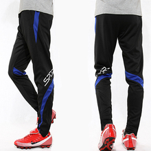2017 New Professional Soccer Training Pants Slim Skinny Sports Survetement Football Running Pants Tracksuit Trousers Jogging Leg(China)