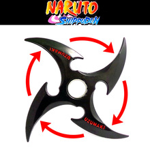 Naruto rotating shuriken, Bearing rotating darts, cos props, Anime weapon model toys, toy knife, gifts for children.(China)