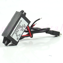 DC 12V to 5V 3A 15W Waterproof DC Converter Mini USB Car Power Adapter