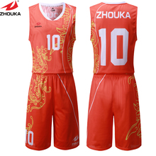 dragon basketball uniform customizing free design sublimation custom your basketball team jersey