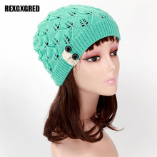 Hot Sale New Fashion Winter Hats for Women Genuine Hat Handmade Knitted Warm Hat Female High Elastic Caps Beanies Headgear