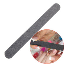 WUF 1 Piece Professional Black Nail File Double Sided Sanding File File Buffer Nails Grit Sandpaper Tool