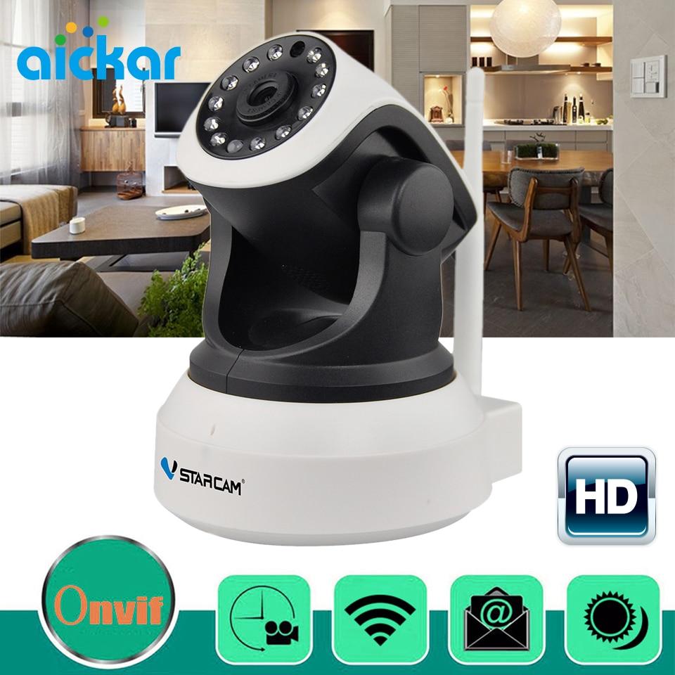 Aickar Wireless Mini IP Camera Security Home Indoor Wifi CCTV Camera Onvif 720P IR Cut Night Vision Baby Monitor <br><br>Aliexpress