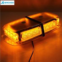 12V 24 LED Amber Car Emergency Hazard Warning Flashing Car Truck LED Top Roof Mini Bar Strobe Light Warning Strobe Light(China)
