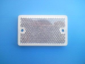 retroreflective photoelectric sensor proximity switch board/beam photocell sensor reflector 65*40mm<br><br>Aliexpress
