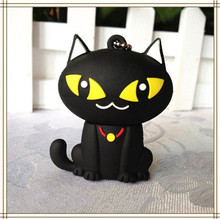 animal cartoon black cat USB Flash Drive 4GB 8GB Memory Card Stick 16GB 32GB Thumb/Car key/Pendrive U Disk/creative Gift(China)