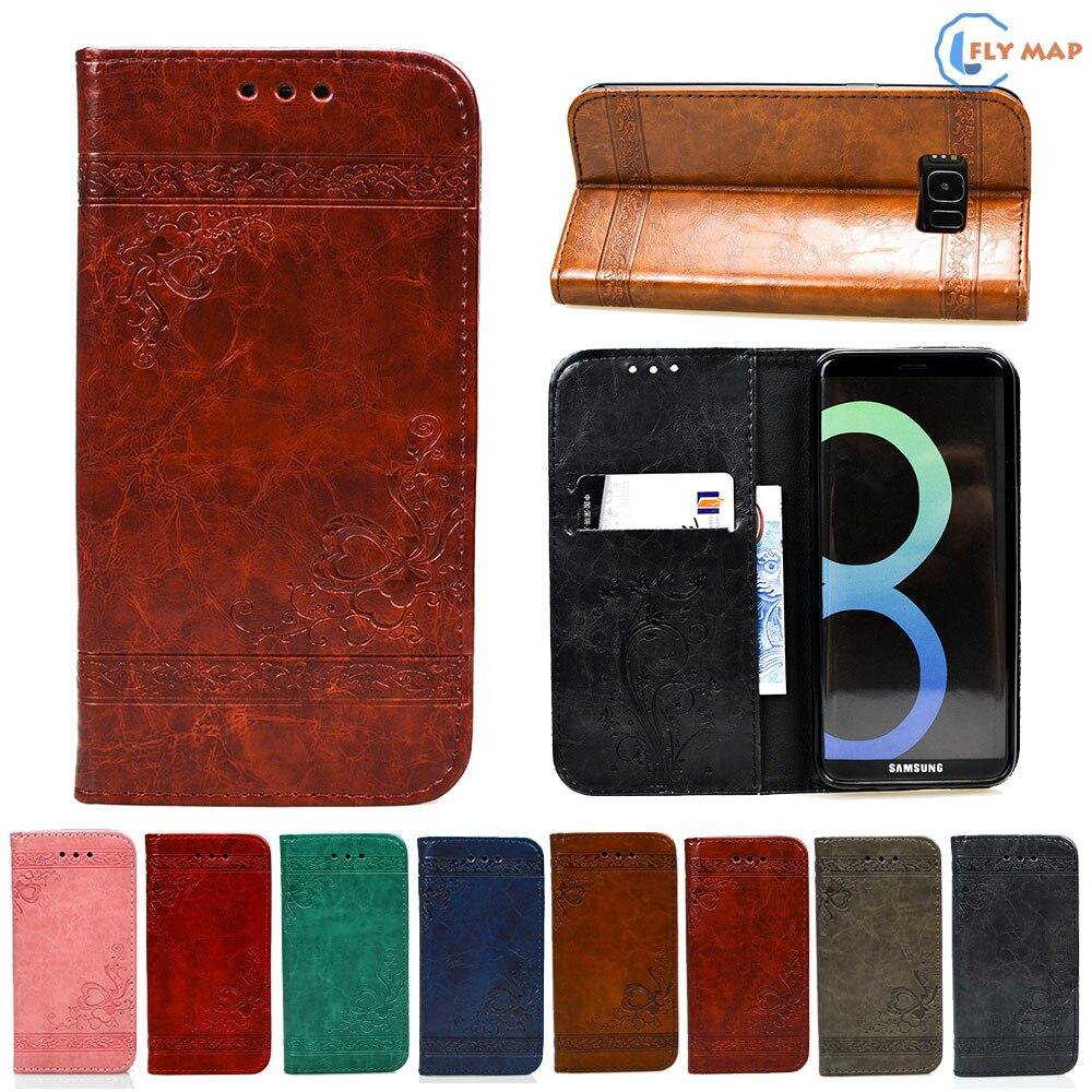 Flip Coque For Samsung Galaxy S8 S 8 8S Phone Leather Case Cover For Galaxy G950F G950FD SM-G950F SM-G950FD G950N G950D SGH-N171