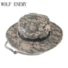 Al por mayor Militar del ejército sombrero Bonnie Caza sombrero de ala  ancha Sol al aire e12eac97a89