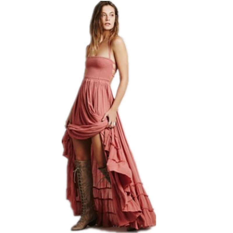 Pikad boho stiilis kleidid