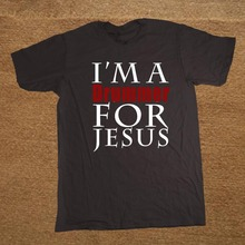 New Summer I'm a Drummer For Jesus T Shirt Cotton Casual Short Sleeve T-shirts Men Top Tees