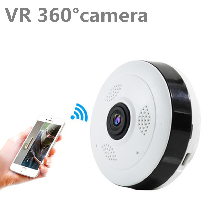 Fisheye VR Panoramic Camera HD 1080P 3MP 4MP Wireless Wifi IP Camera Home Security Surveillance System Wi-fi 360 degree Webcam<br>
